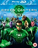 Green Lantern (Blu-ray 3D + Blu-ray + DVD + UV Copy) [Region Free]