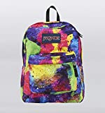 Jansport Superbreak Backpack - Multi Neon Galaxy *New