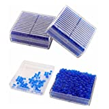 2pcs Silica Gel Desiccant Humidity Moisture Absorb Bead Absorber Box Reusable