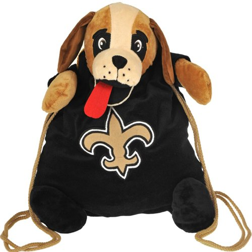 New Orleans Saints NFL Plush Mascot Backpack Pal at Amazon.com