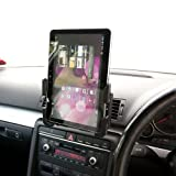 Vehicle Air Vent Swivel Car Mount Kit with Strong Super Slim Holder for Asus Eee Pad Transformer TF101