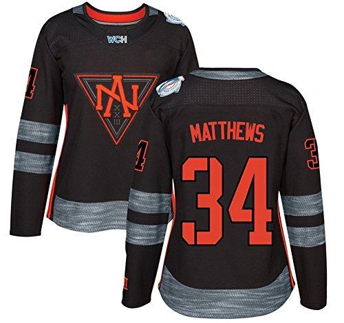 Women's North America Hockey #34 Matthews Jersey 2016 World Cup of Hockey Jersey