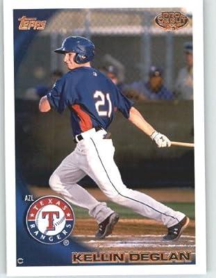 2010 Topps Pro Debut Baseball Card # 232 Kellin Deglan - Texas Rangers - MiLB (2010 MLB Draft Pick - Prospect - Rookie Card) MLB Trading Card