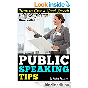 5 tips to give best extempore speech The following are five tips to reducing public speaking nervousness,  the truth  is, even the best, most experienced speakers make many.