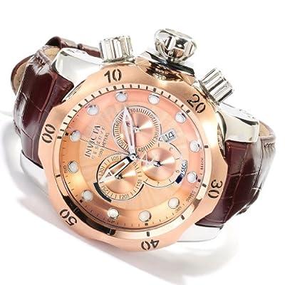 Invicta Men's 10778 Venom Analog Display Swiss Quartz Brown Watch