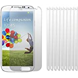 Samsung Galaxy S4 i9500 / i9505 Screen Protector Case / Guard / Film / Cover 10-in-1 Pack