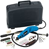 Draper 23050 140W 230V Multi-Tool Kit with Flexible Drive Shaft and Accessory Kit (100 Pieces)