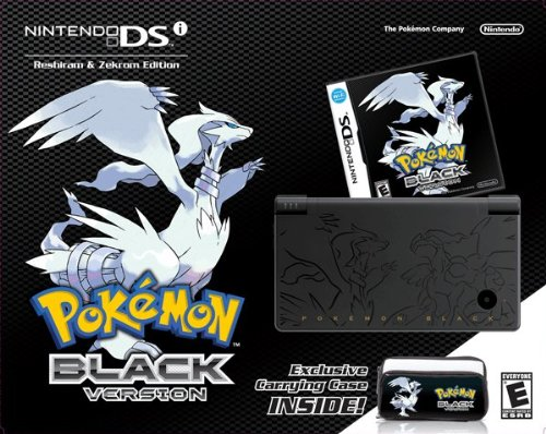 Pokemon Black Version Bundle (DSi)