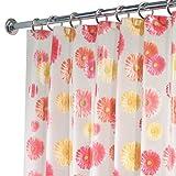 InterDesign EVA Shower Curtain, Gerbera Daisy
