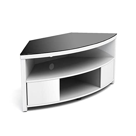Gecko IMP900-GWB Corner Cabinet with Mounting Bracket for TV - White