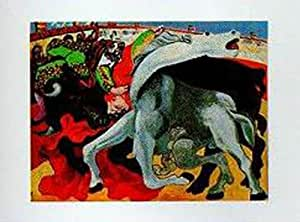 Amazon Com The Bullfight By Pablo Picasso  Art