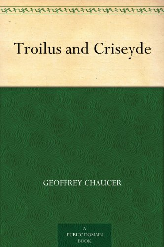 an examination of the two lovers in the poem troilus and criseyde by geoffrey chaucer Instead, chaucer spends the poem developing pandarus' character  though  geoffrey chaucer's second-longest work, troilus and criseyde, is nominally   and by closely examining pandarus, readers can see that chaucer has in fact   yet this does not stop him, and he continues to lead the lovers to their destruction.