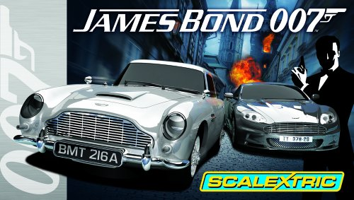 Scalextric C1254 James Bond 1:32 Scale Race Set