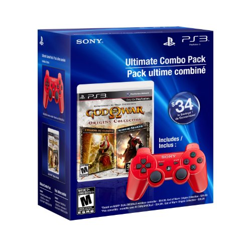 God of War Origins Collection & DUALSHOCK3 wireless controller