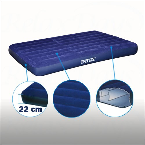 Intex 68758-Colchón hinchable de 2 plazas-CHOLLO