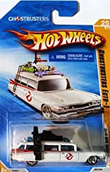 GHOSTBUSTERS ECTO-1 Hot Wheels 2010 New Model Ecto-1 1:64 Scale Collectible Die Cast Car