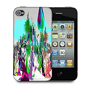 Snoogg Liquid Fruits 2544 Designer Protective Back Case Cover For Apple Iphone 4