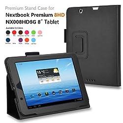 Elsse For Nextbook Premium 8HD - Premium Folio Case for Nextbook Premium 8HD Tablet [June 2013 Wal-Mart Release] (Nextbook 8
