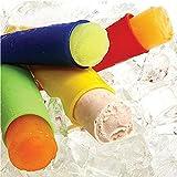 Miryo-1 x Silicona Push Up molde del helado de la jalea Lolly Pop Hacedor Popsicle Molde, color al azar