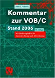img - for Kommentar zur VOB/C book / textbook / text book