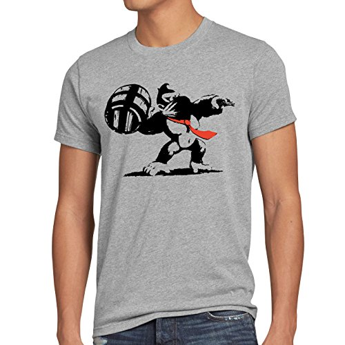 style3 Graffiti Kong Men's T-Shirt donkey nintendo pop