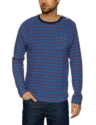 Jack and Jones Moshy Plain Men's T-Shirt Federal Blue Large