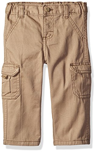 Wrangler Authentics Boys' Toddler Cargo Pant, New Khaki, 4T (4t Boys Pants compare prices)