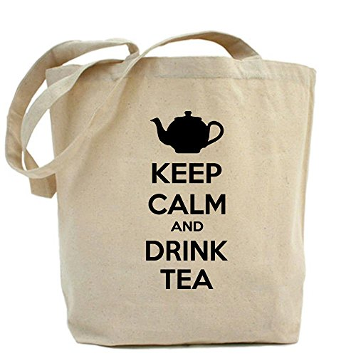 Cafepress Keep Calm And Drink Tea Tote Bag - Standard Multi-Color