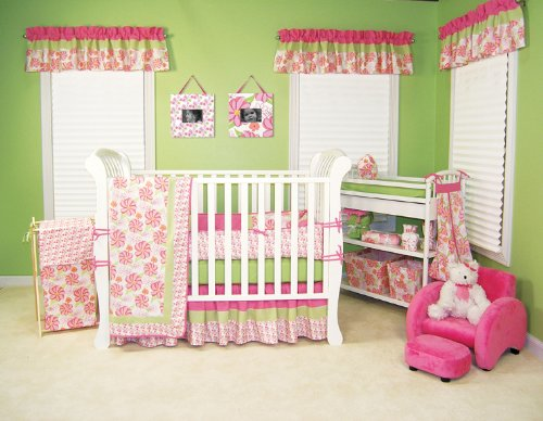 Trend Lab 4 Piece Crib Bedding Set