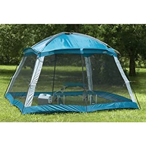 Amazon.com : Outdoor Screen Room Camping Canopy Shade Gazebo with Dome