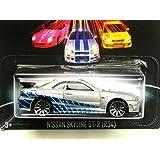 【ホットウィール 2013】ワイルドスピード #3/8 ニッサン スカイライン GT-R (R34) 並行輸入品
