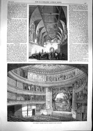 1867 Queen'S Theatre Long-Acre Seamans Orphan Asylum