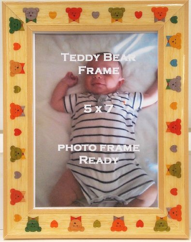 Baby Infant Childrens Teddy Bear 5X7 Table Top Photo Frame front-409426