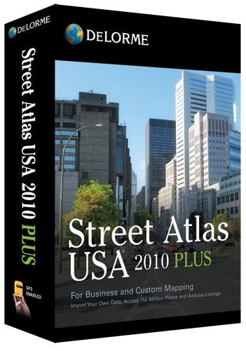 Street Atlas USA 2010 Plus