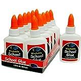 School Glue - White - 1.25 oz. Squeeze Bottle Case Pack 48