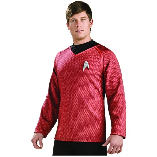 Star Trek Movie Grand Heritage Red Shirt, Adult Large Costume