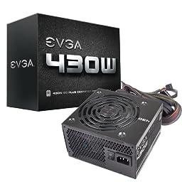 EVGA 430 W1, 80+ WHITE 430W, 3 Year Warranty, Power Supply 100-W1-0430-KR