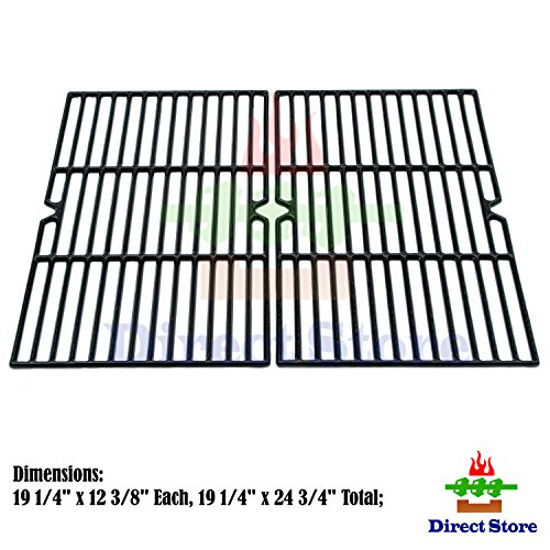 Direct store Parts DC107 Porcelain Cast Iron Cooking grid Replacement Charmglow,Jenn-Air,Weber,BBQ Grillware,Costco Kirkland,Aussie,Grill Zone,Kenmore,Nexgrill......Gas Grill (Jenn Air Grate compare prices)