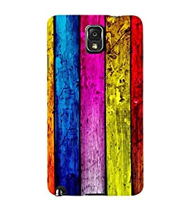WOODEN LINES PATTERN PIC 3D Hard Polycarbonate Designer Back Case Cover for Samsung Galaxy Note 3 N9000 :: Samsung Galaxy Note 3 N9002 :: Samsung Galaxy Note 3 N9005 LTE