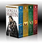 GEORGE R. R. MARTIN'S A GAME OF THRONES 4-BOOK BOXED SET: A GAME OF THRONES, A CLASH OF KINGS, A STORM OF SWORDS, AND A FEAST FOR CROWS BY Martin, George R. R.( Author)Paperback on Mar-22-2011