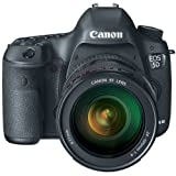 Canon EOS 5D Mark III 22.3 MP Full Frame CMOS Digital SLR Camera with EF 24-105mm f/4 L IS USM Lens