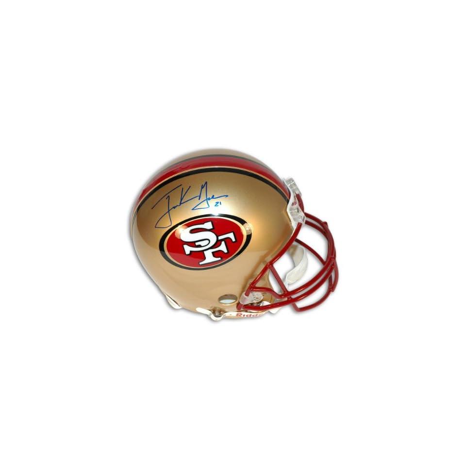 Frank Gore Autographed San Francisco 49ers NFL Proline Helmet