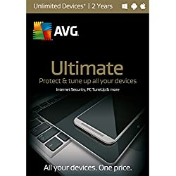 AVG Ultimate 2016 - Unlimited Devices / 2 Years License