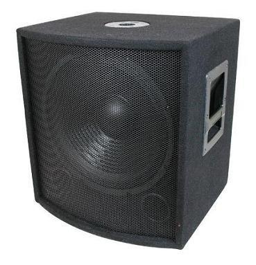 """Pro Audio Dj 12"""" Subwoofer Passive Bass Cabinet"""