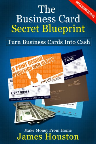 Make Money From Home Turn Business Cards Into Cash Small