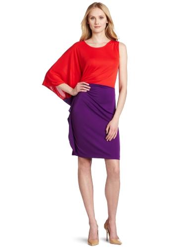 Kenneth Cole New York Women's Asymmetric Knit Dress