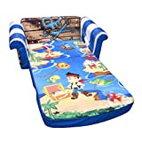 Marshmallow Fun Furniture Jake and The Neverland Pirates Flip Open Sofa