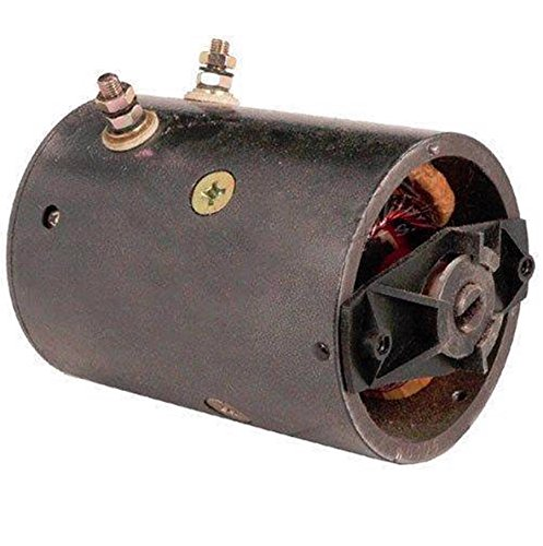 SNOW PLOW MOTOR FISHER WESTERN INSULATED GROUND 4 FIELD COILS CW 12 VOLT MUE6306 (A Coil Fisher Plow compare prices)