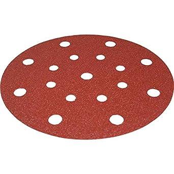 """Festool Sandpaper, HandL, 6"""" dia., 120 Grit, 50 per pack"""