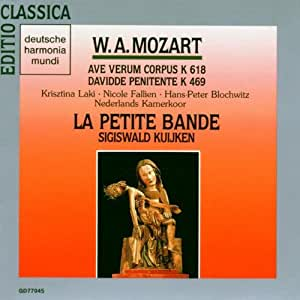 Mozart: Ave Verum Corpus K.618 / Davidde Penitente K.469